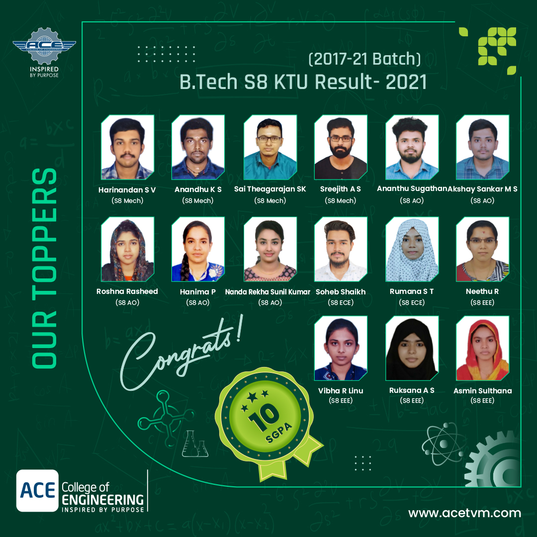 ACE topper Students image